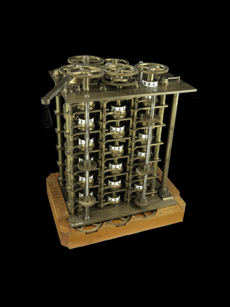 Model of Charles Babbage's Difference Engine No. 1 (replica)
