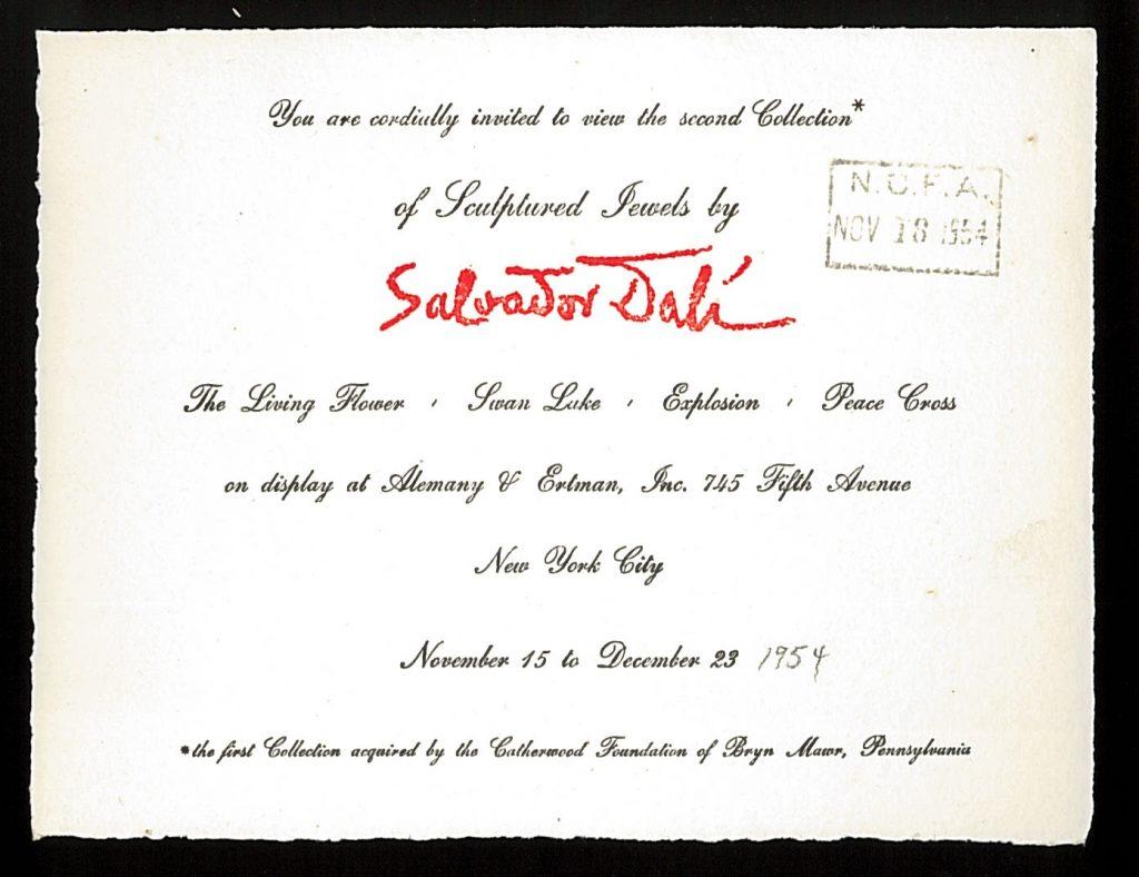 1954 Invite