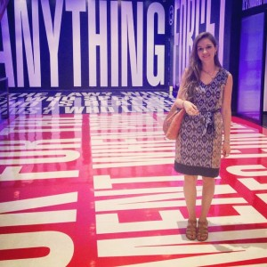 Pictured in the Belief + Doubt installation by Barbara Kruger at the Hirshhorn Museum