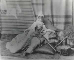 Sarah Hewitt, costumed for the Vanderbilt Ball as a Persian Princess.