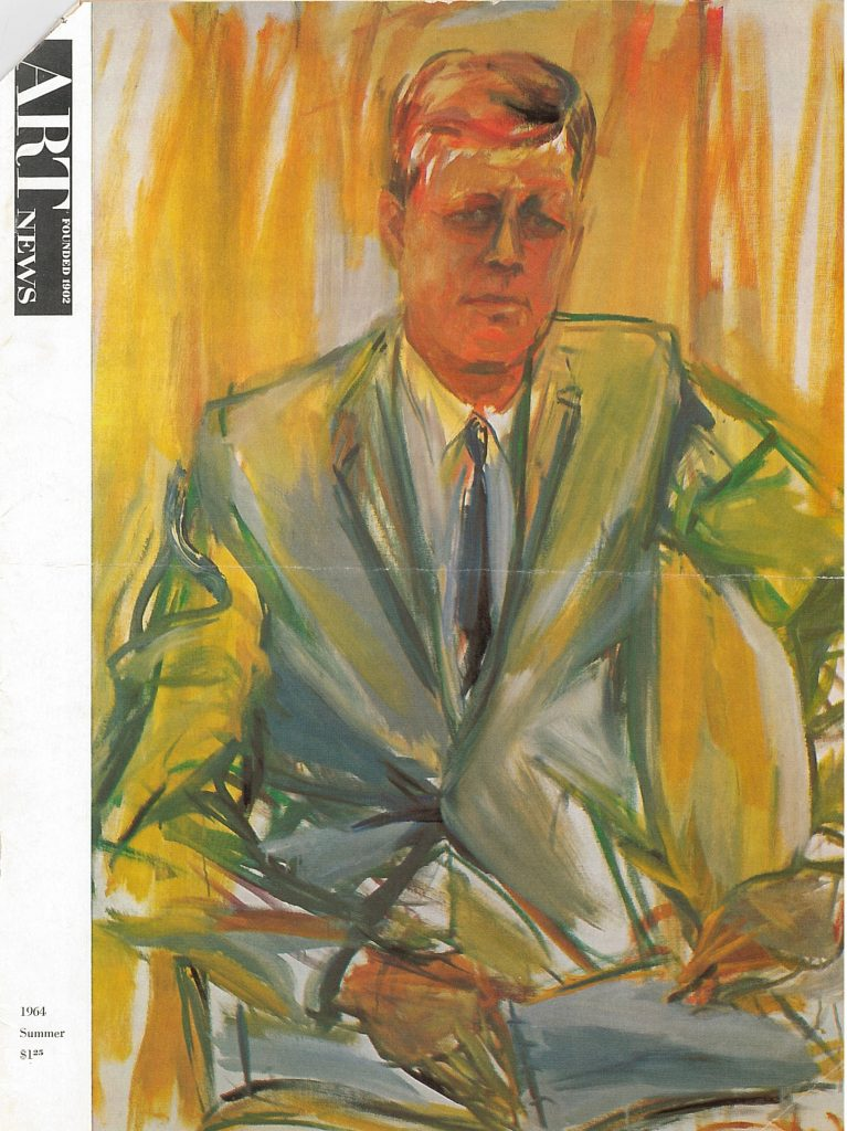 Cover of Art News Magazine, Summer 1964 issue-- AAPG
