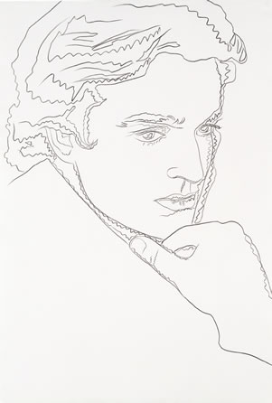 Andy Warhol (1928–1987) Jamie Wyeth Graphite on paper, 1976 National Portrait Gallery, Smithsonian Institution © 2001 Andy Warhol Foundation for the Visual Arts / ARS, New York