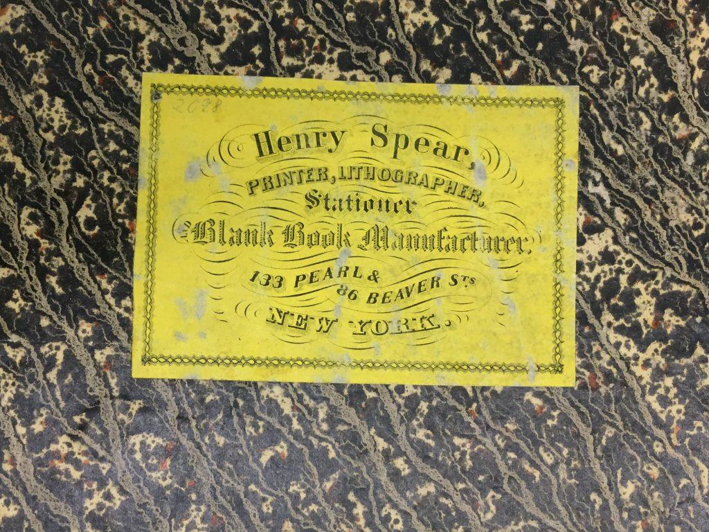 10. Norie Atlas - binder ticket
