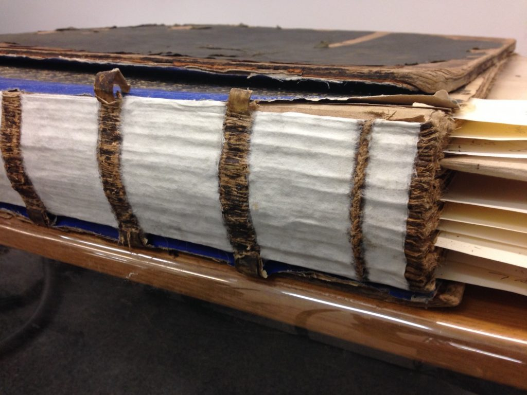 4. Japanese paper lining