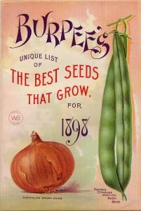 Burpee Seed Catalog 1898