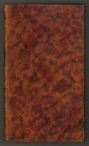 Another example of multi-colored stains of calf for a lovely effect (Nollet abbé (Jean Antoine, Leçons de physique experimentale. Paris, 1749)