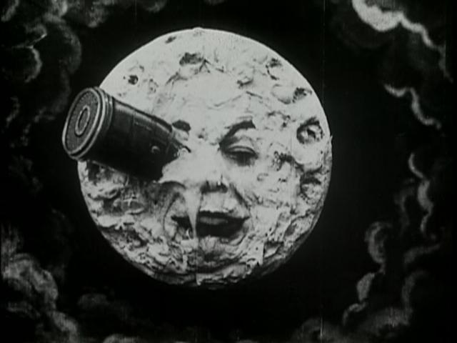 Georges Méliès, Trip to the Moon (1902). Image courtesy of Flicker Alley and the Blackhawk Films Collection.
