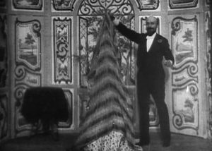 Georges Méliès as the magician in The Vanishing Lady (Star Film, 1896)