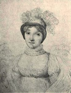 Portrait of Sophie Blanchard