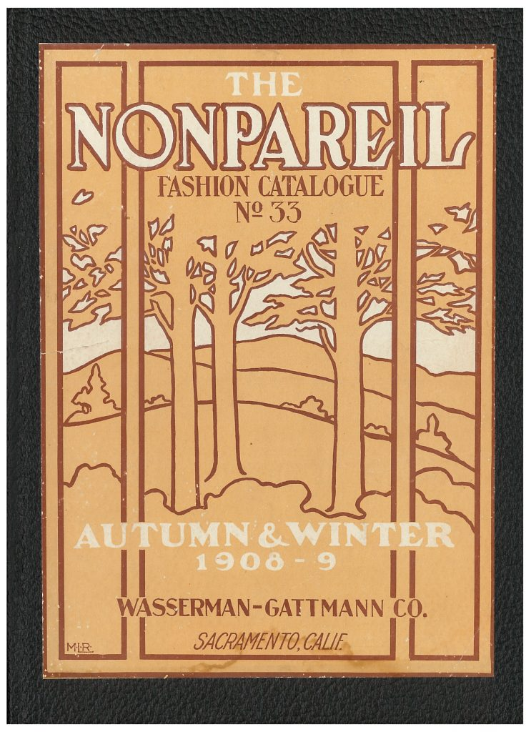 forest scenery on front cover of Wasserman-Gattmann Co. catalog