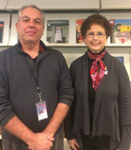 Paul and Janet, two volunteers at the AAPG Library who helped with the Allentown Vertical File Donation.