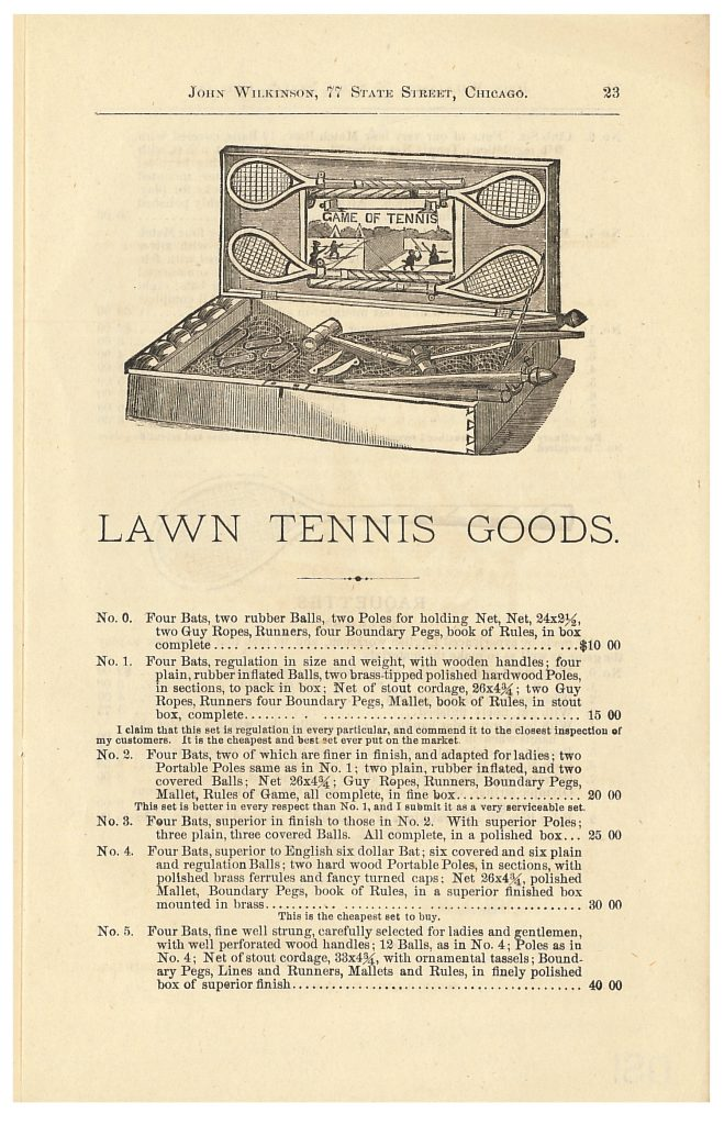 lawn tennis sets