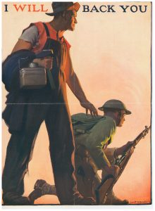 Gerrit Beneker WWI Poster