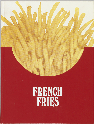 An artist book in the collections: French fries : a new play, written by Dennis Bernstein, Warren Lehrer ; designed by Warren Lehrer, 1984.