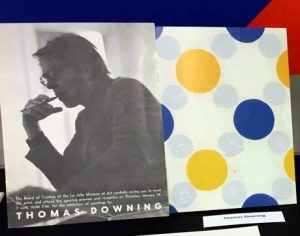 "Thomas Downing and his ""Blue and Gold"" 1963"