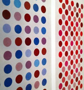 Thomas Downing's examples of grids and dots