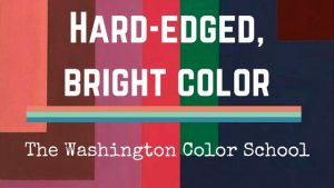 Hard-Edged, Bright Color