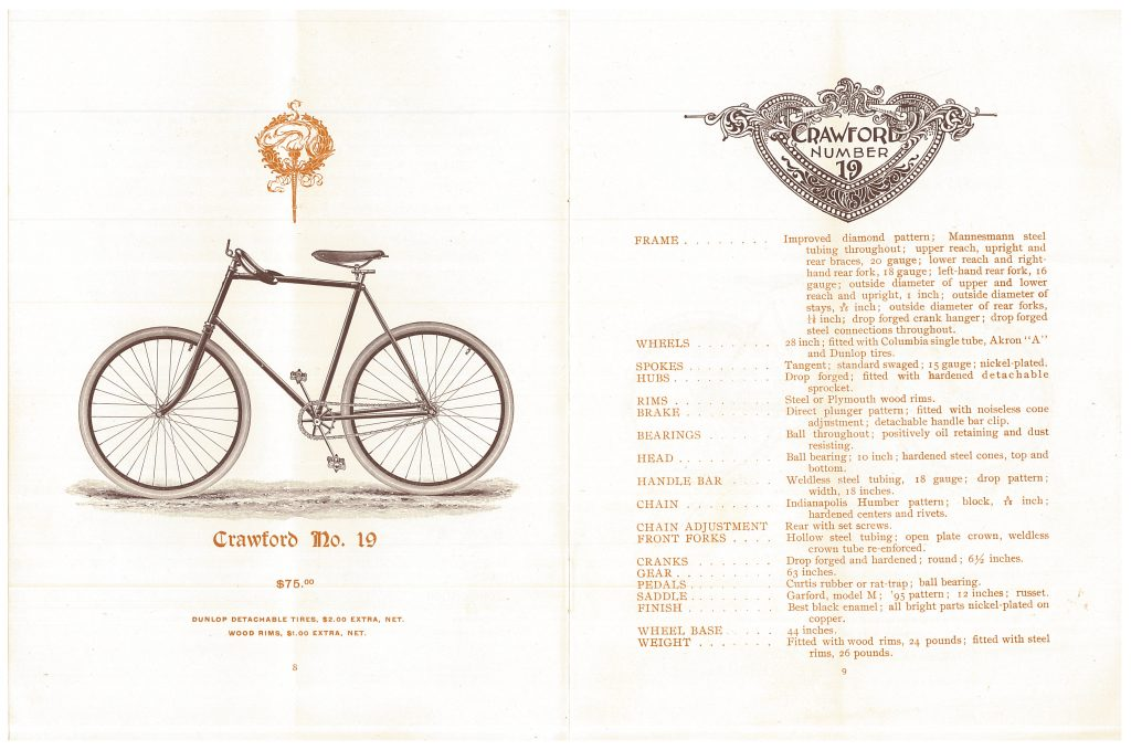 Crawford No. 19 Bicycle