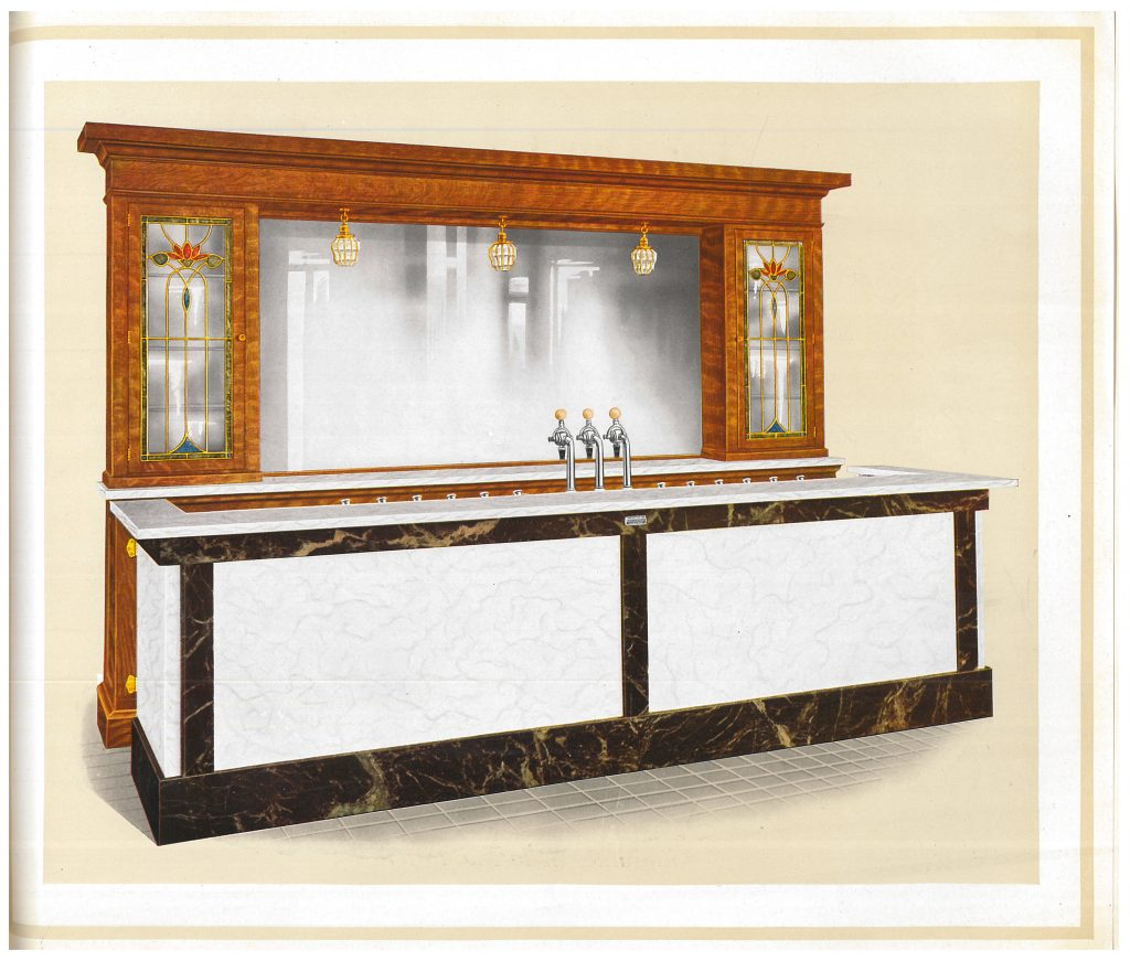Omaha Design Soda Fountain Counter and Backbar
