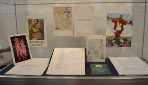 "Ephemera relating to Marshall Glasier, George Grosz, and Robert Cenedella from ""Igniting Artistic Consciousness"""