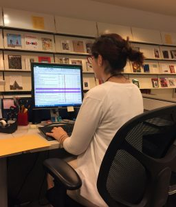 Jenna Fattah 2017 Smithsonian Libraries intern
