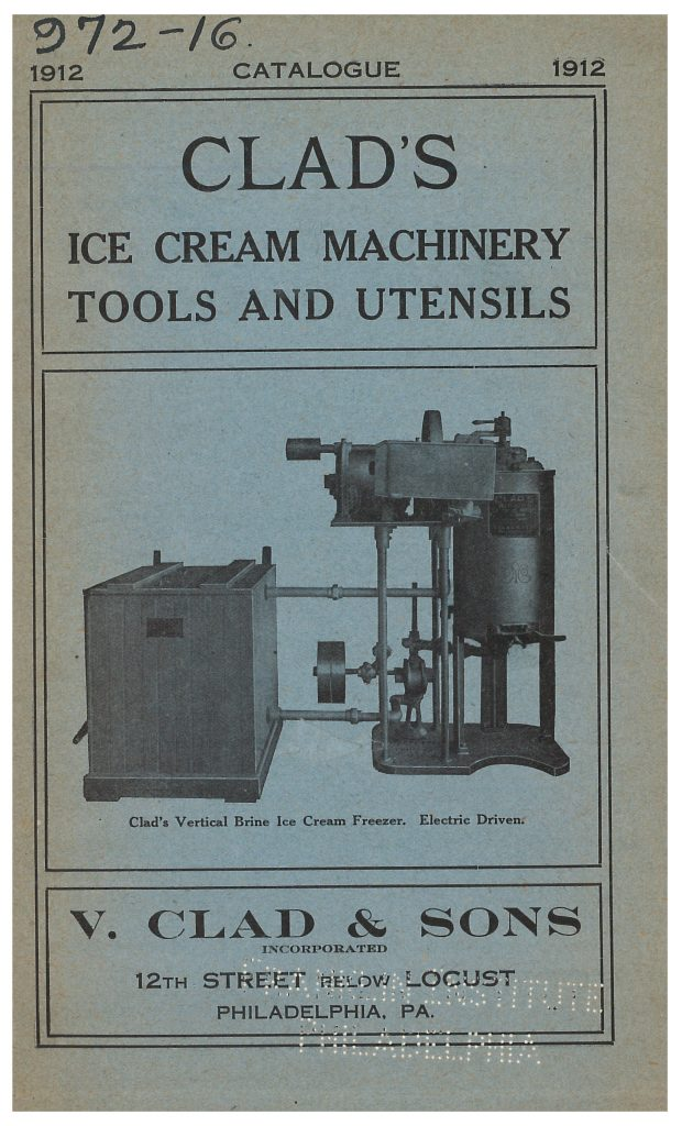 vertical brine ice cream freezer