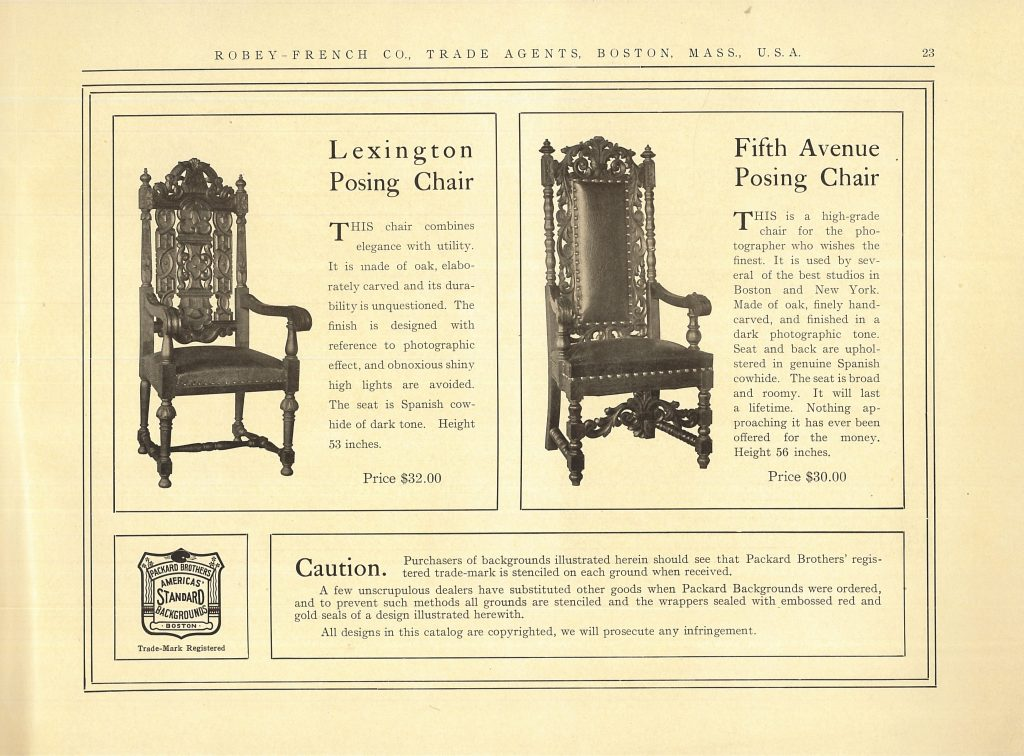 Page 23 of Robey-French Co. catalog, 1908