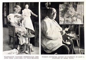 Thérèse Bonney photographs of couturier Madeleine Vionnet and fashion designer and illustrator Paul Poiret.