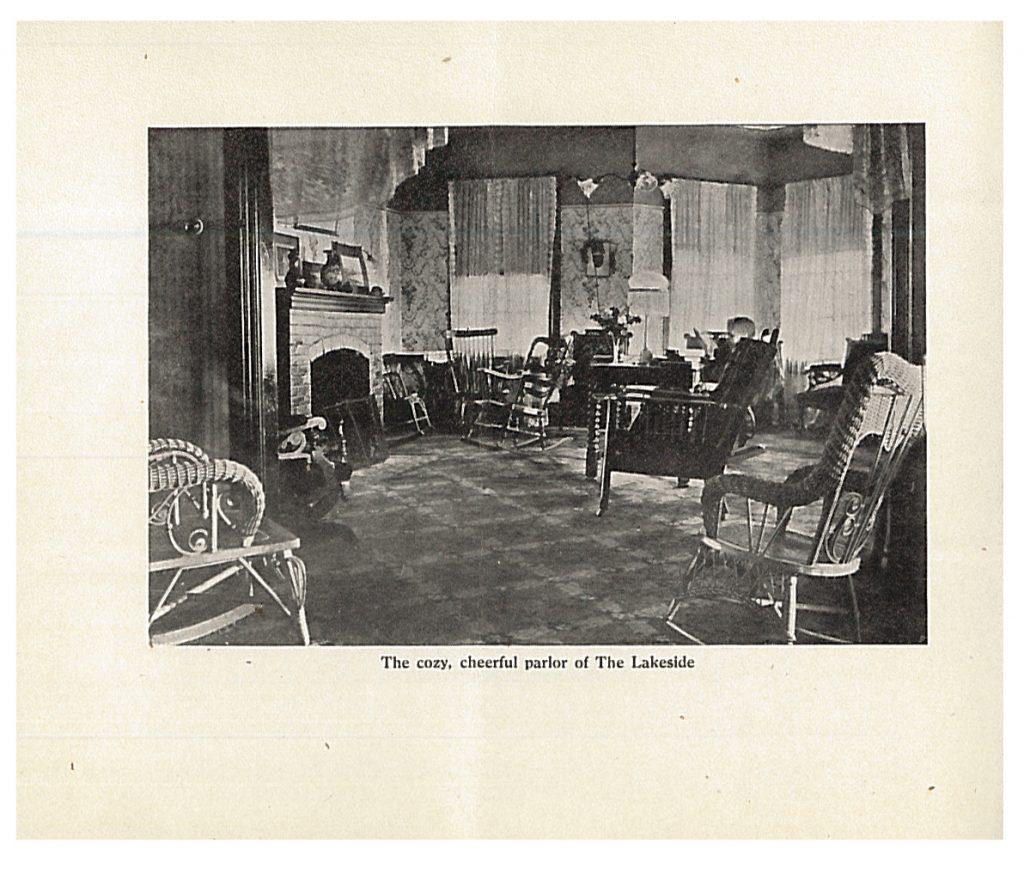 parlor at Lakeside