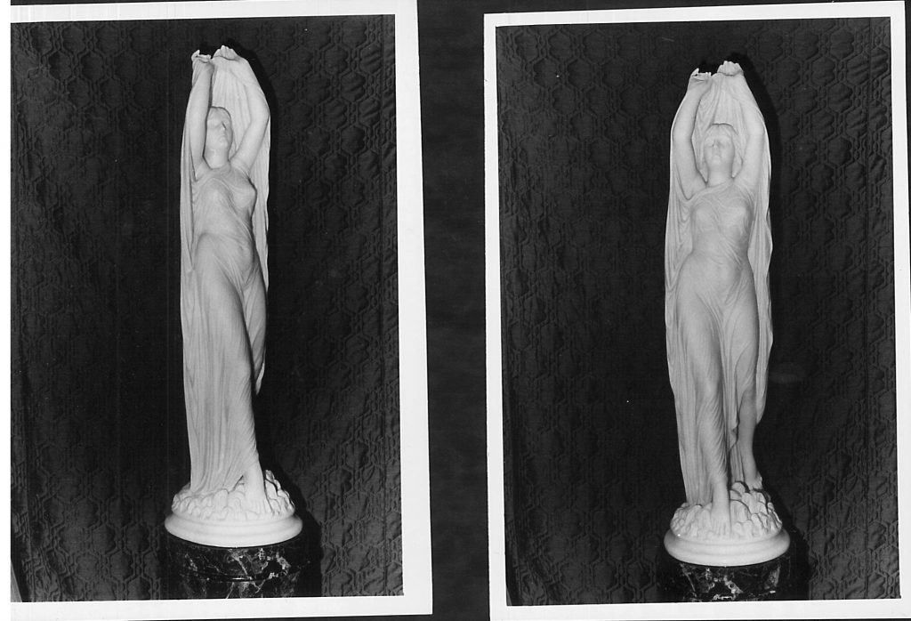 Two photos of Undine by Chauncey Ives.