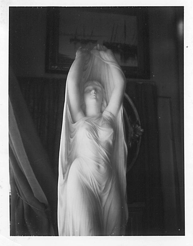 Photos of Undine Sculpture by Chauncey B. Ives.