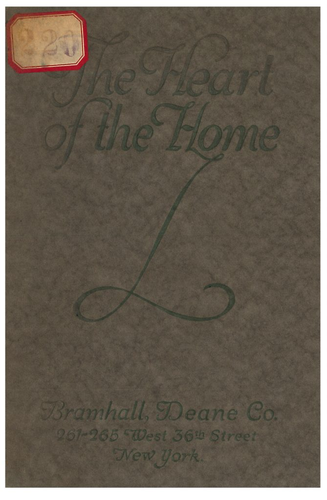 front cover of Heart of the Home trade catalog