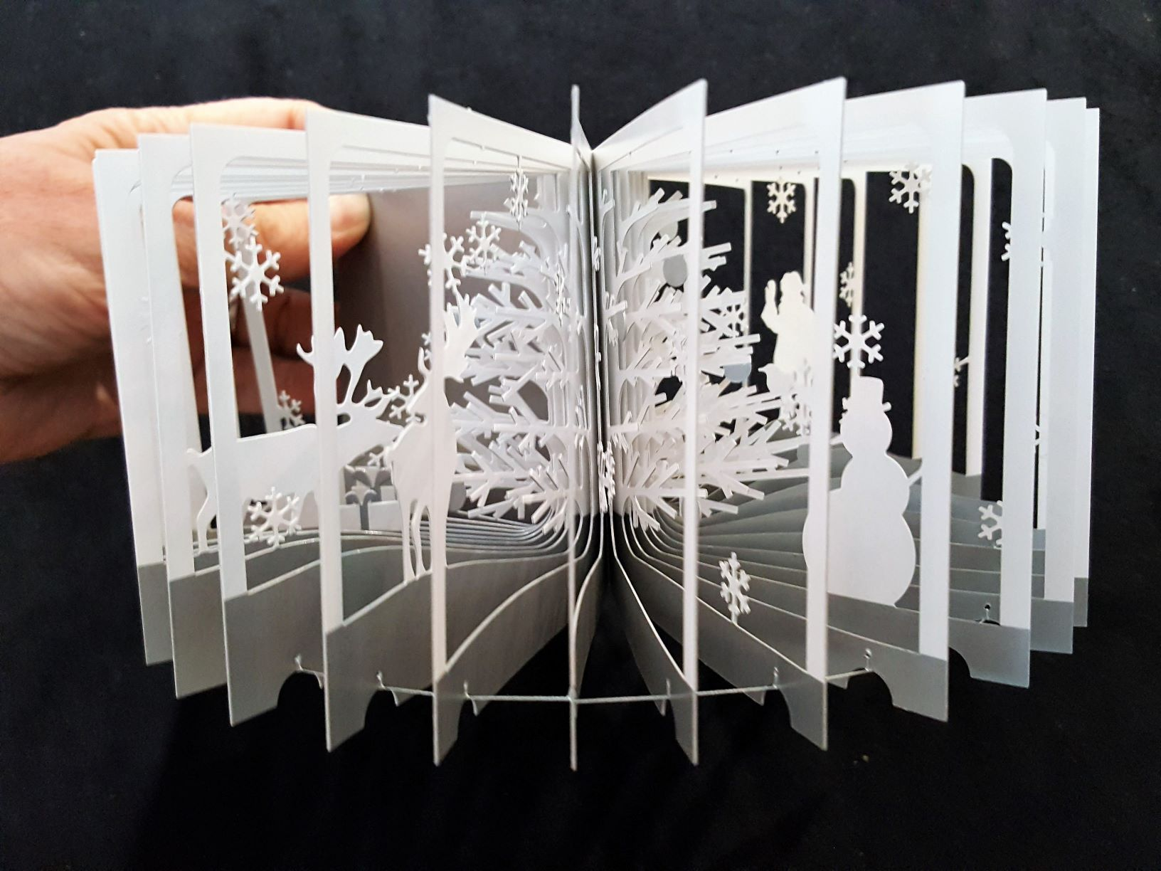 Image fetures the Snowy world : 360° book by Yusuke Oono.