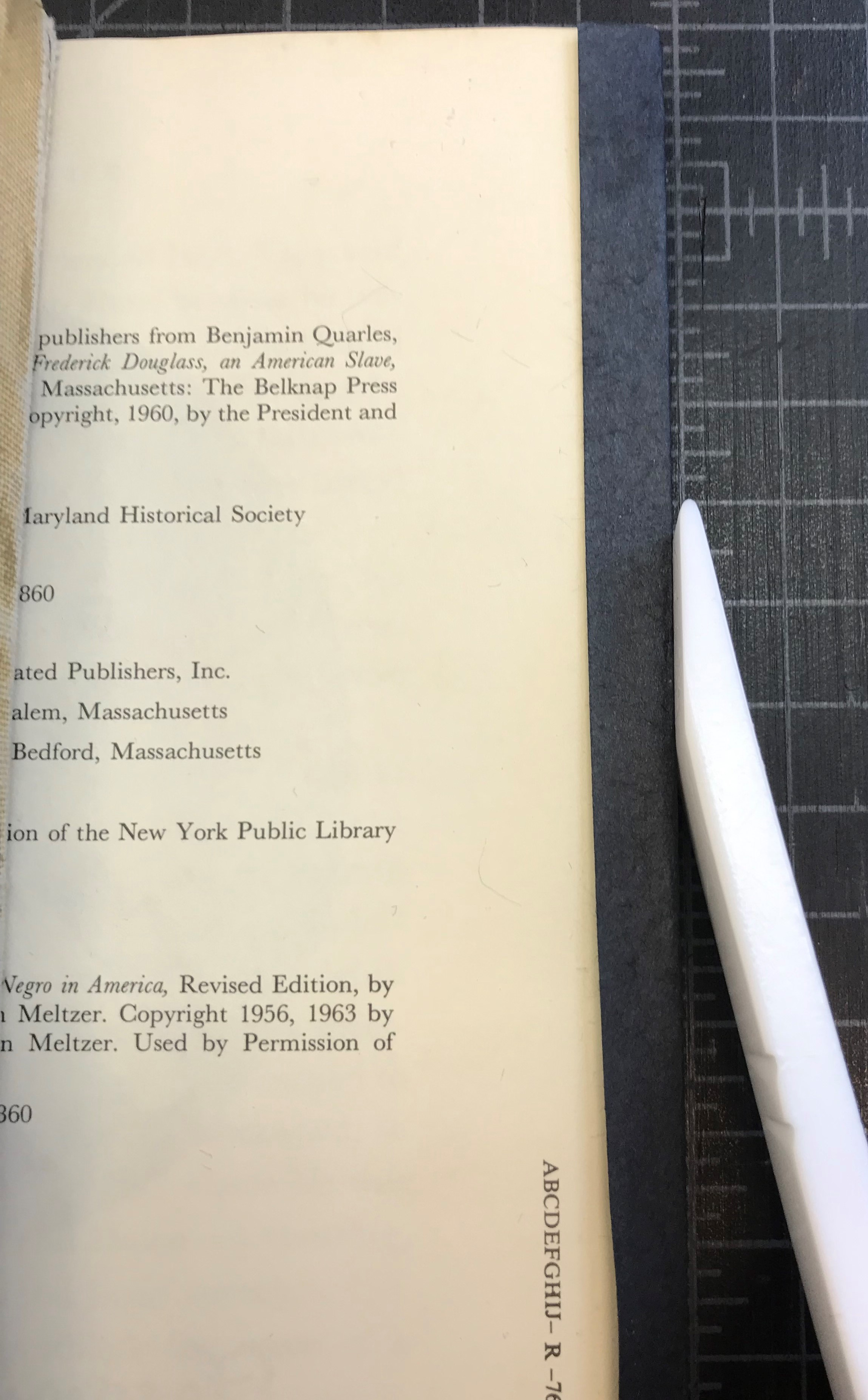 The Fix: Repairing an Adhesive Bound Paperback – Smithsonian