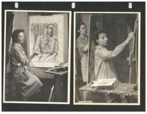 Photos of Mae Jurow.