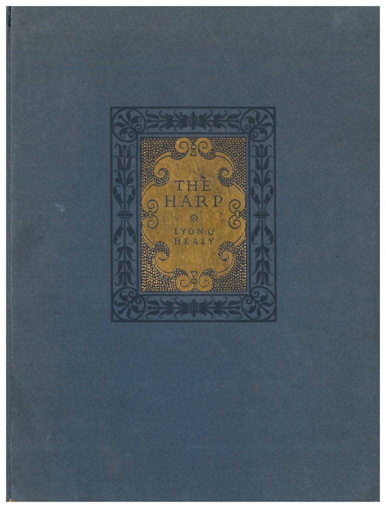 front cover of Lyon & Healy Harp trade catalog