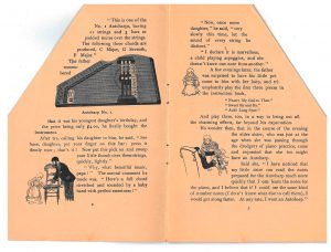 Autoharp No. 1 and scenes from the story of the father and his family