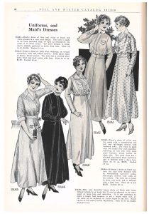 maid, nurse, and waitress uniforms and house dress for women