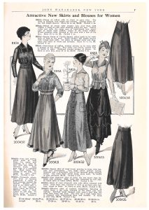 women's skirts and blouses