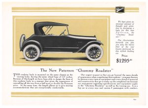 "Paterson ""Chummy Roadster"""