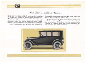 Paterson Convertible Sedan