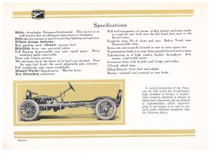 specifications of the Paterson Six car