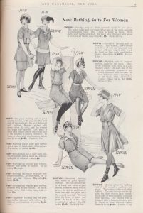 women's bathing suits and bathing caps