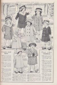 children's coats and hats
