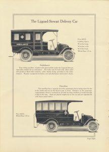 ambulance and omnibus