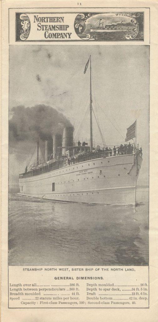 Steamship North West