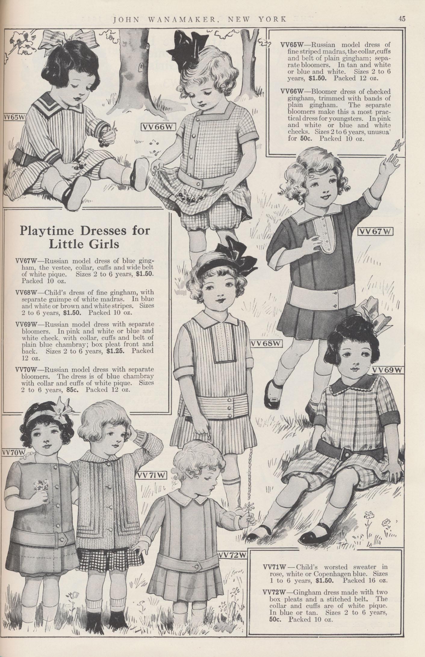 Girls' Playtime Dresses